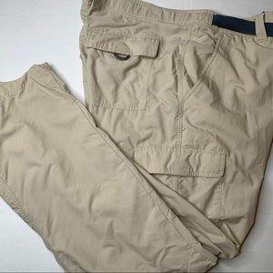 "Columbia Omni-Shield outdoor hiking pants mens 38"""